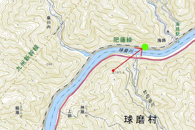 画像: 肥薩線(海路~吉尾)