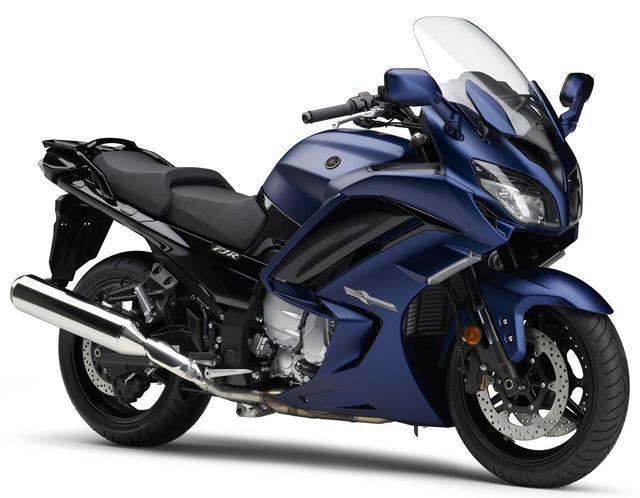 画像: ヤマハが最高峰ツアラー「FJR1300AS/A」に新色マットブルーを設定! - webオートバイ