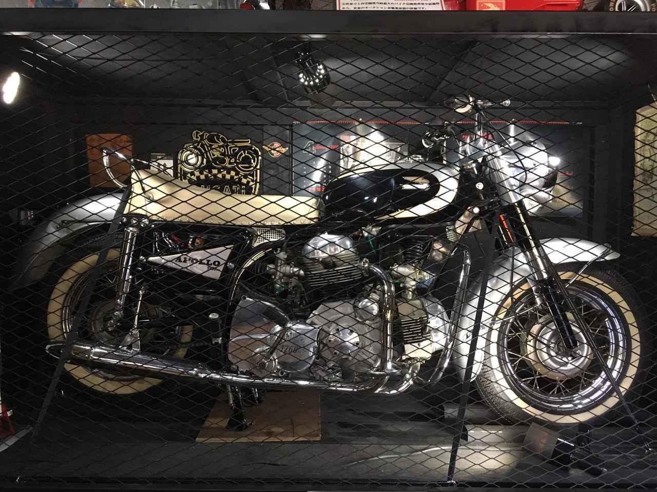 画像1: 世界中でここだけに現存している、 Ducati L型4気筒1260cc「アポロ」
