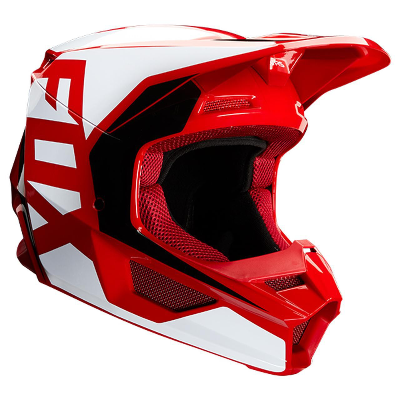 画像: FOXの「V1 ヘルメット プリ」がかっこいい! 特許取得の「マグネッティック・バイザー・リリース・システム」を搭載 - webオートバイ