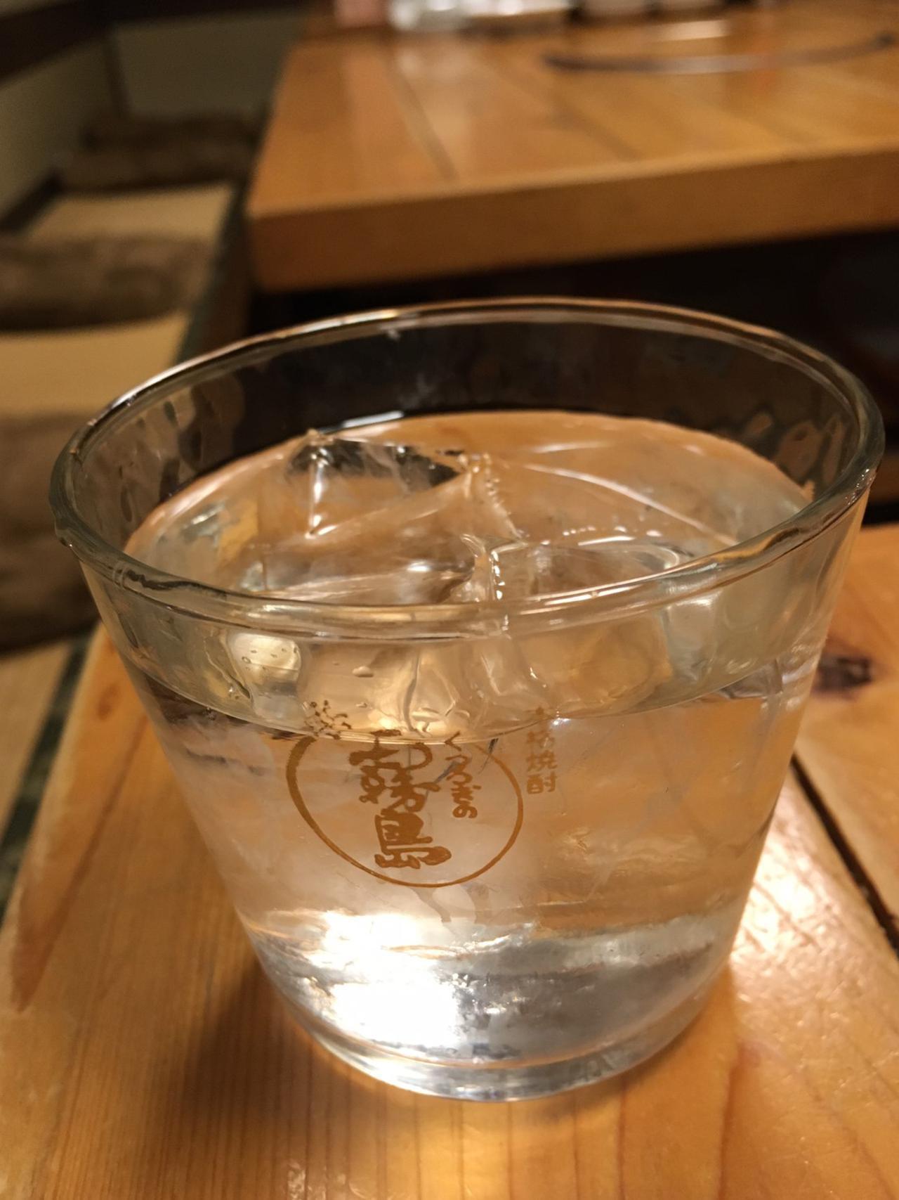 画像: 霧島のグラスに入っていますが、いいちこです。