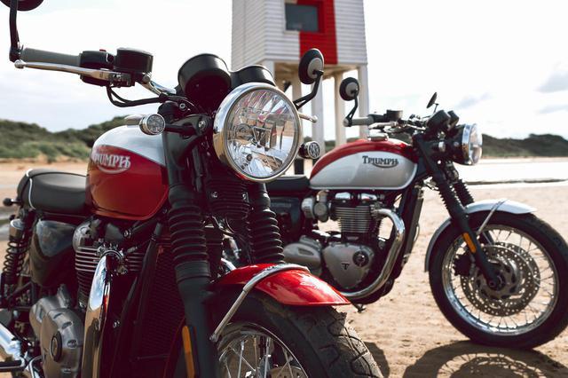 画像: トライアンフが『大脱走』のスタントマンの名を冠した「Bud Ekins Bonneville T120」「Bud Ekins Bonneville T100」を発表 - webオートバイ