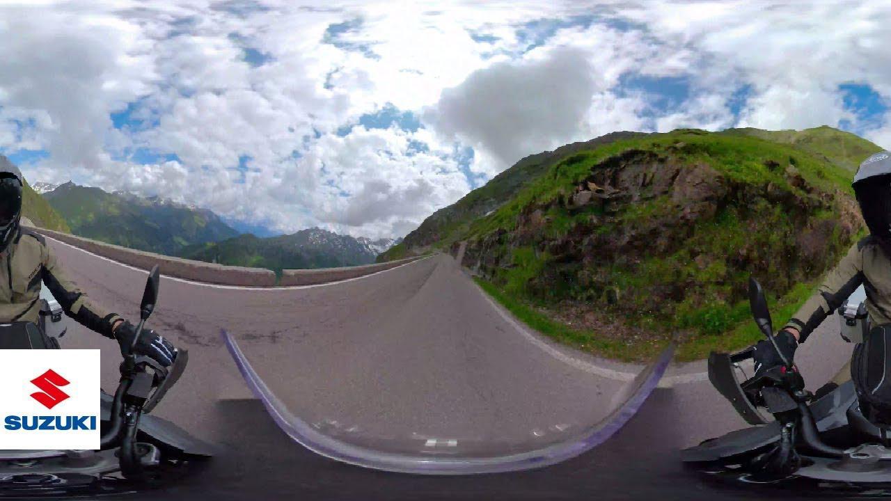 画像: 2020 V-STROM 1050/XT x Suzuki VR Experience   Suzuki youtu.be