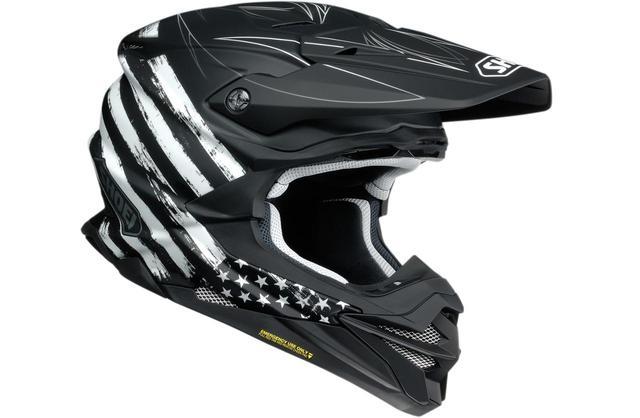画像: SHOEIのオフロードヘルメット〈VFX-WR〉にモノトーンのグラフィックモデル「FAITHFUL」が新登場 - webオートバイ