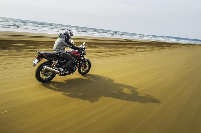 画像: 【写真コラム】ホンダ CB400 SUPER FOUR(柴田直行) - webオートバイ
