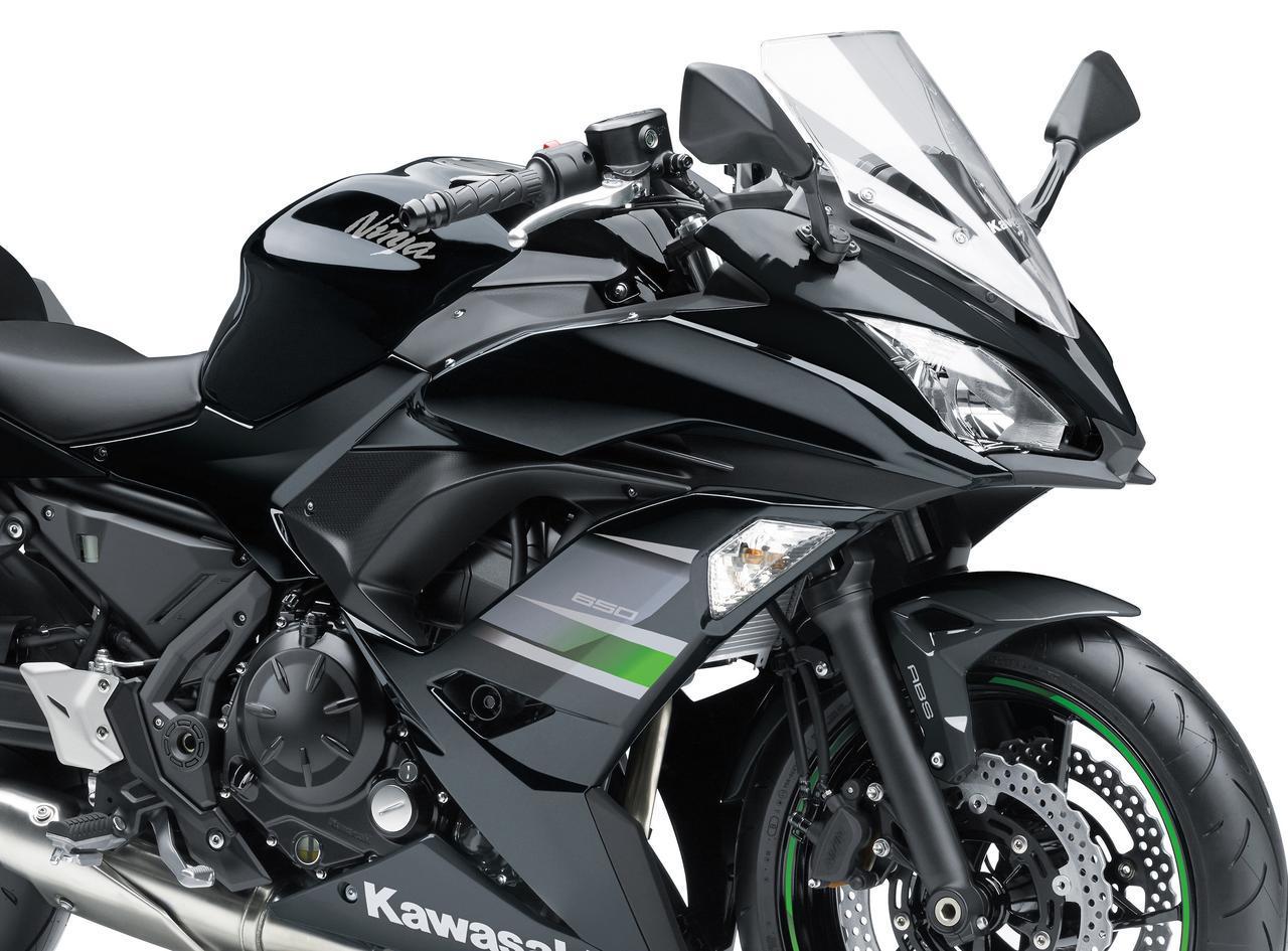 画像: Ninja 650 2018年・2019年モデルの比較画像 - webオートバイ