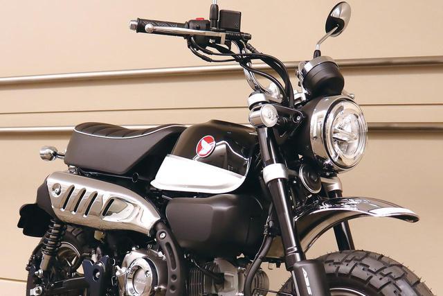 画像: ホンダ「モンキー125」2020年カラーは「ブラック」 - webオートバイ
