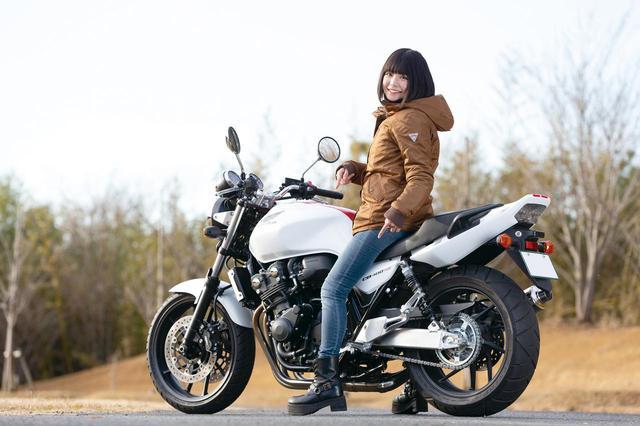 """画像: 足つき性抜群『HONDA CB400SF/SB """"NANAMARU""""LS』(美環) - webオートバイ"""