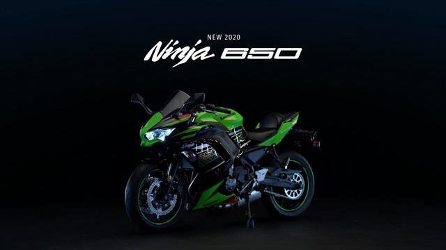画像: Ninja 650 Studio Video www.youtube.com