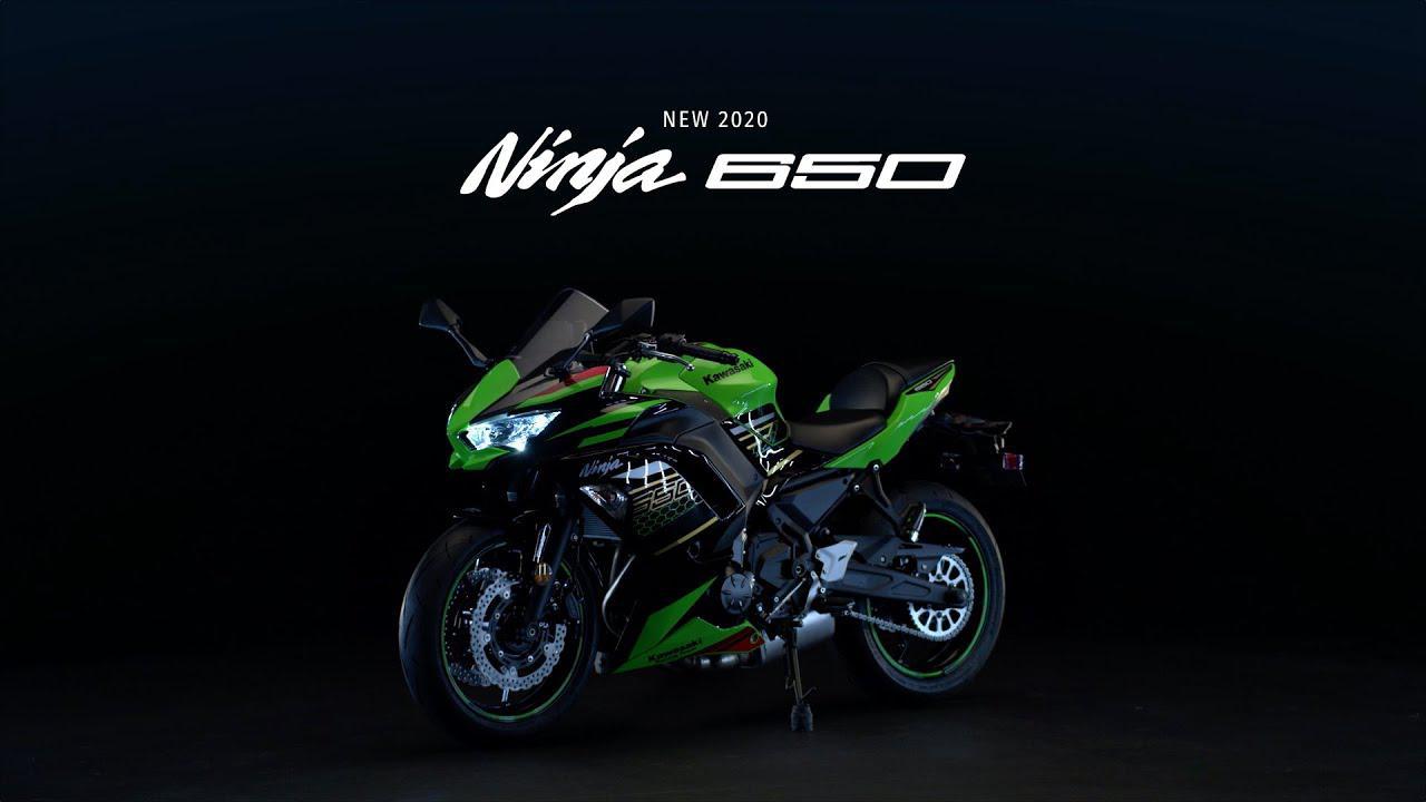 画像: Ninja 650 Studio Video www.youtube.com