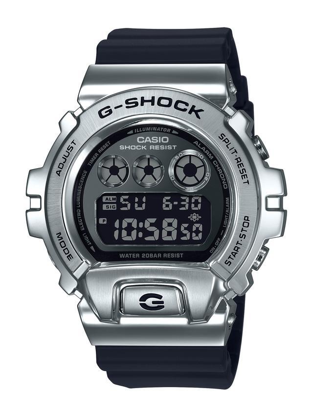 画像: GM-6900 シルバー×ブラック 25,300円(税込)