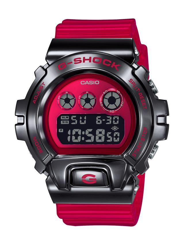 画像2: G-SHOCKの定番「三つ目」の6900シリーズに初のメタルベゼル採用モデルが登場!