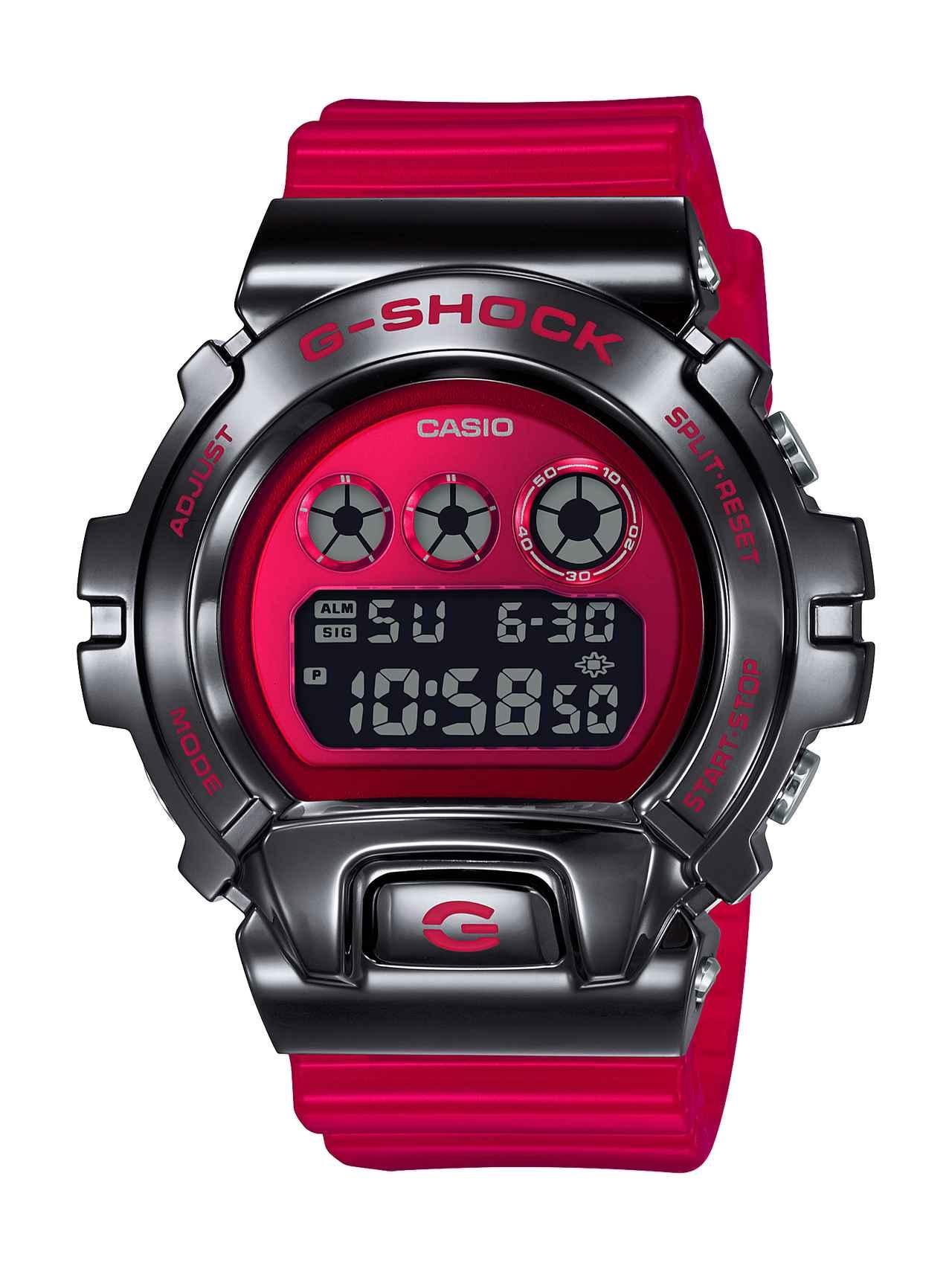 画像: GM-6900B ブラック×レッド 28,600円(税込)