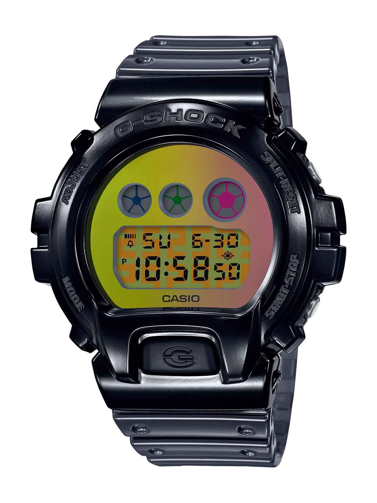 画像4: G-SHOCKの定番「三つ目」の6900シリーズに初のメタルベゼル採用モデルが登場!