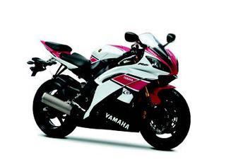 ヤマハ YZF-R6/WGP50周年記念カラー 2012 年