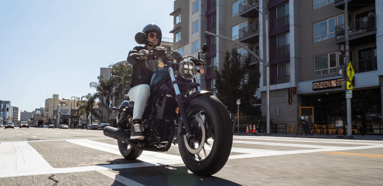 画像1: Honda 「Rebel 250」新色:マットジーンズブルーメタリック