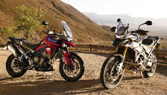画像: トライアンフ「タイガー900」シリーズを簡単解説 - webオートバイ