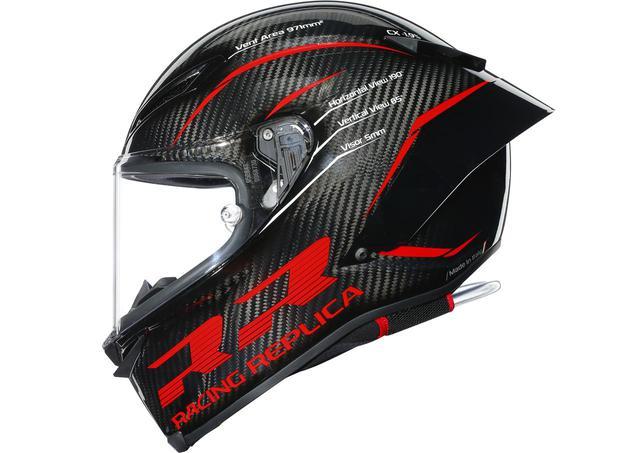 画像: 【AGV】100%カーボン・シェルの新型ヘルメット「PISTA GP RR」が12月14日から順次発売! - webオートバイ