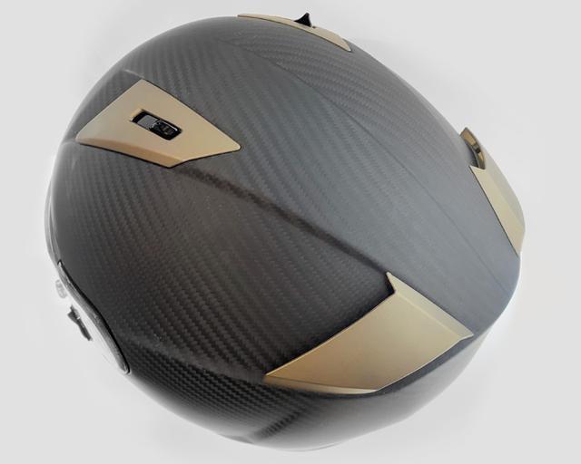 画像5: カーボンシェルを採用した超軽量ヘルメットSHIRO「SH-336」