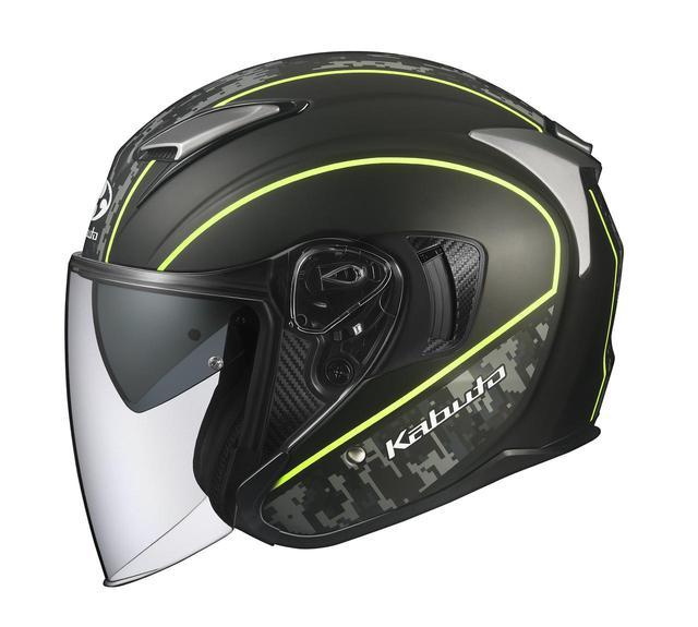 画像: Kabutoのインナーサンシェード付きオープンフェイスヘルメット「EXCEED(エクシード)」の人気グラフィックに新色を追加! - webオートバイ