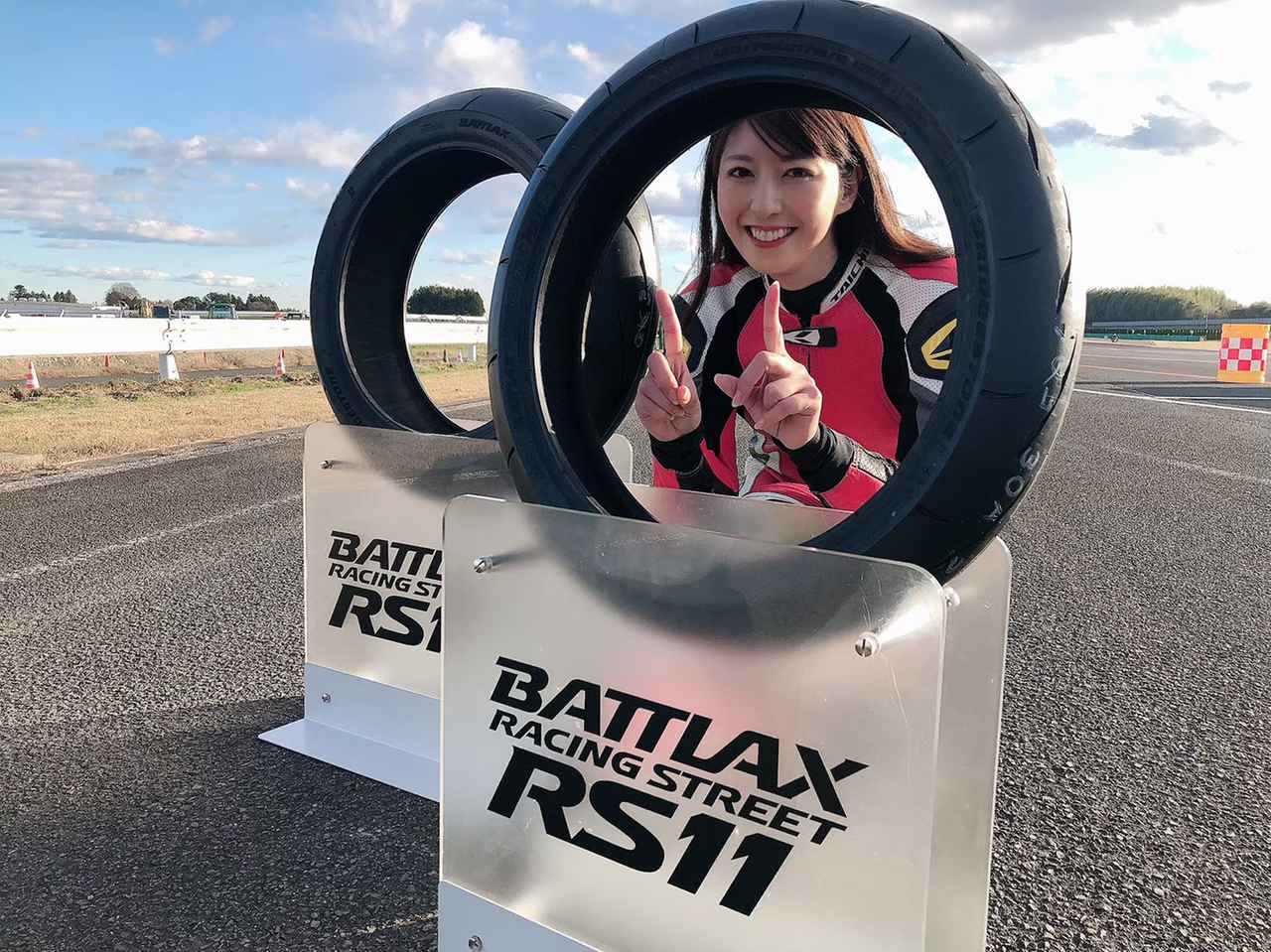 画像1: 続いてはドキドキのYZF-R1で試乗! BATTLAX RACING STREET RS11