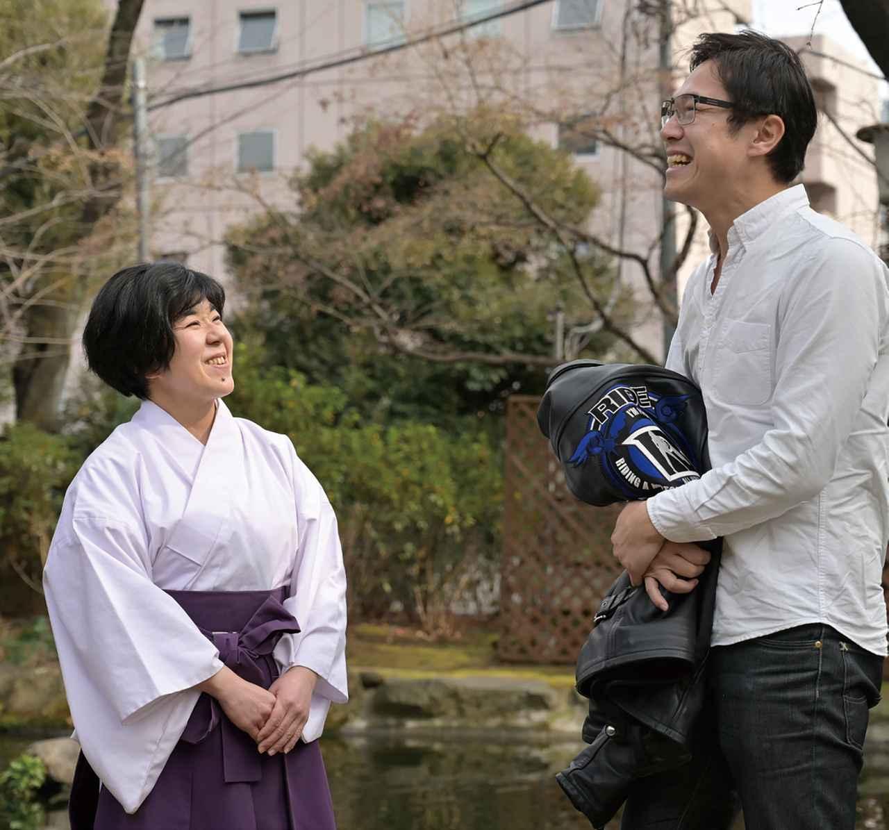 画像: お話を聞かせてくださった、愛宕神社・禰宜(ねぎ)の松岡由里子さん。「神様を敬う気持ちを忘れなければ、参拝方法のルールにガチガチに縛られて考える必要はないと思いますよ」と教えてくださいました。そう、参拝でもっとも大切なことは、真摯な気持ちなのです!