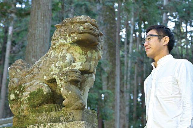 画像1: 「世界一大きな狛犬」と「モネの池」を目指して岐阜県へ/神社巡拝家・佐々木優太の「神社拝走記」【第16回】