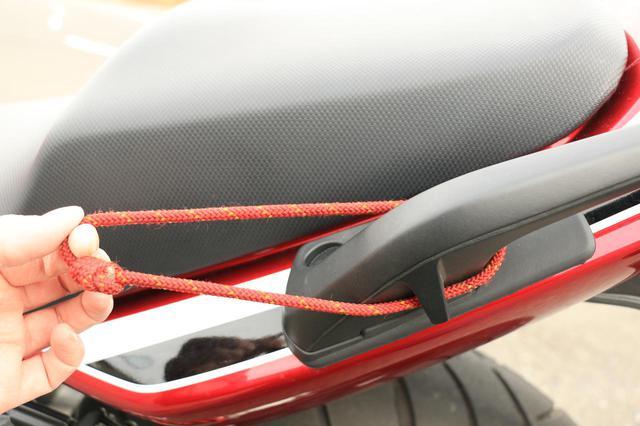 画像3: 【積載インプレ】ホンダ「CB400 SUPER FOUR」/日帰りサイズからキャンツーリング用まで4種類のバッグでパッキング・テスト