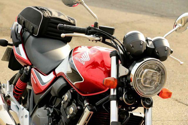 画像: 【結論】CB400SFは荷物を積みやすいバイクなのか?