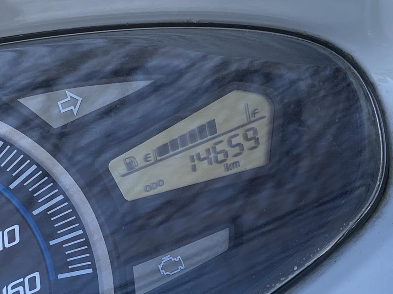 画像: 譲り受けたときの走行距離は約14000km。10年前のモデルだと思えば、むしろ少ないくらいです。