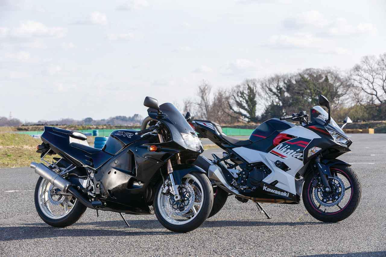 画像: 約30歳違いの2台の250cc。排ガスや音量の規制が違う中でやっぱり強く思うのは……
