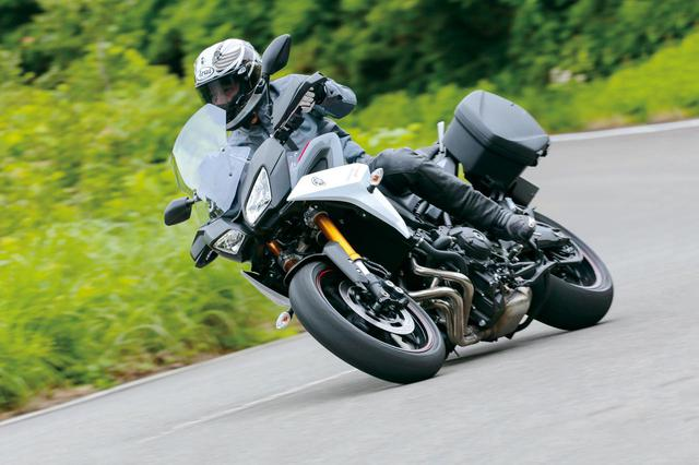 画像: 【試乗インプレ】抜群のスタビリティが光る快速スポーツツアラー!【YAMAHA TRACER900GT ABS】(2018年) - webオートバイ