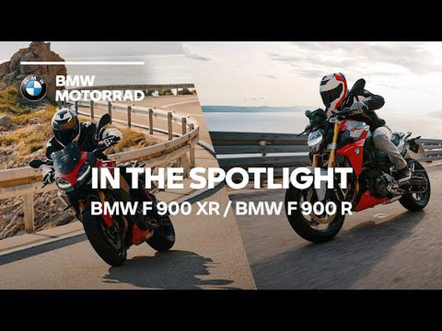 画像: IN THE SPOTLIGHT: The new BMW F 900 R & BMW F 900 XR www.youtube.com