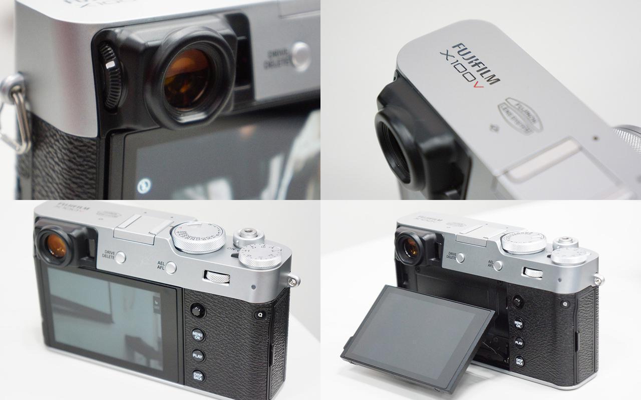 画像: X100Vの各部材にはデザインへの相当なこだわりが感じられる。