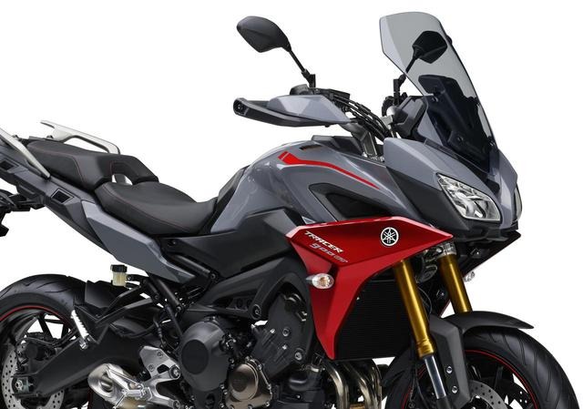画像: ヤマハTRACER900シリーズに新色が登場! 2019年3月1日発売開始 - webオートバイ