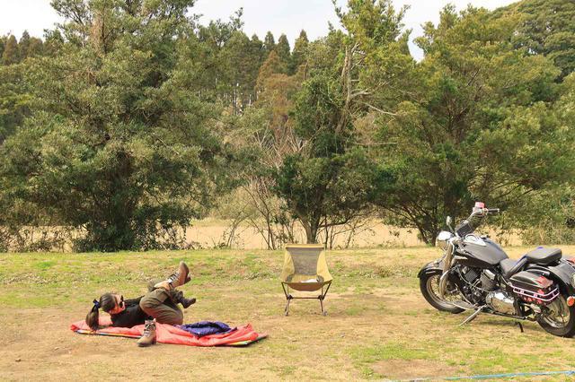 画像3: 冬のキャンプツーリング テクニック&アイテム集! キャンプ好きスタッフ3人の寒さ対策を紹介【編集部員の冬休み】