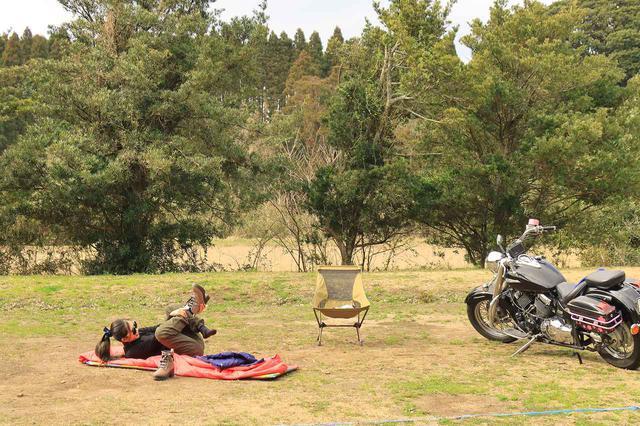 画像4: 冬のキャンプツーリング テクニック&アイテム集! キャンプ好きスタッフ3人の寒さ対策を紹介【編集部員の冬休み】