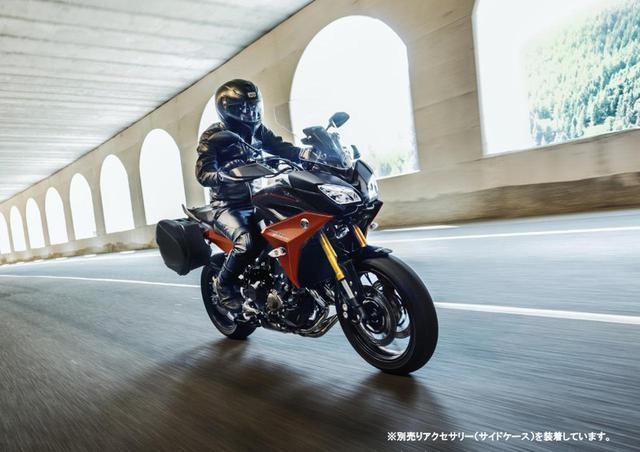 画像: TRACER900 GT ABS(オプション装着車)
