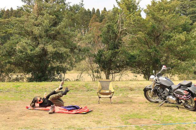 画像5: 冬のキャンプツーリング テクニック&アイテム集! キャンプ好きスタッフ3人の寒さ対策を紹介【編集部員の冬休み】