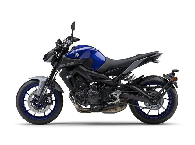 画像2: ヤマハが「MT-09 ABS」の新色を2月25日に発売! YAMAHAレーシングブルーをベースとしたニューカラー