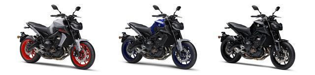 画像5: ヤマハが「MT-09 ABS」の新色を2月25日に発売! YAMAHAレーシングブルーをベースとしたニューカラー