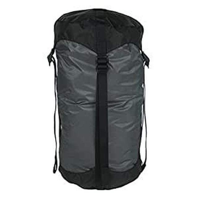 画像: Amazon.co.jp: イスカ(ISUKA) ウルトラライトコンプレッションバッグ L グレー 339322: スポーツ&アウトドア