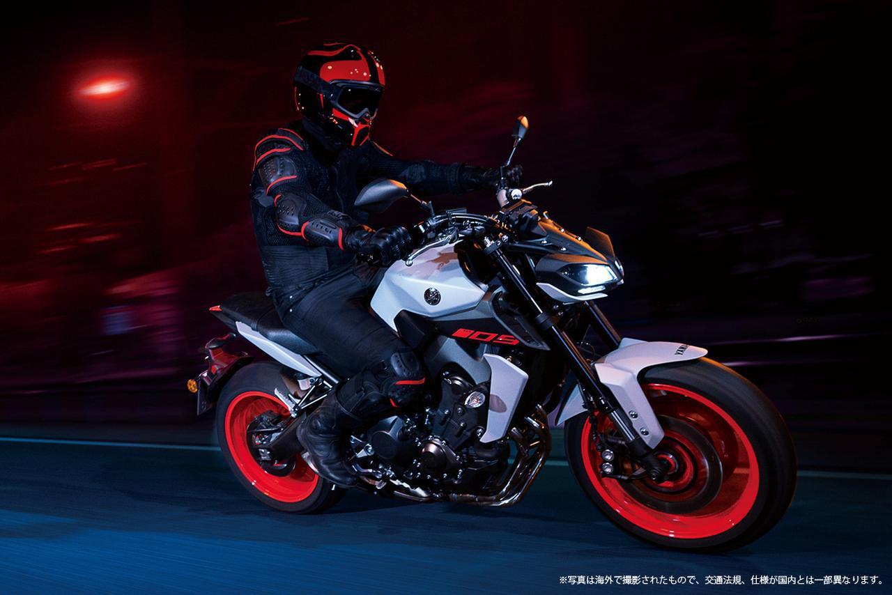 画像: ヤマハの直列3気筒スポーツマシン「MT-09 ABS」にも新色が登場! - webオートバイ