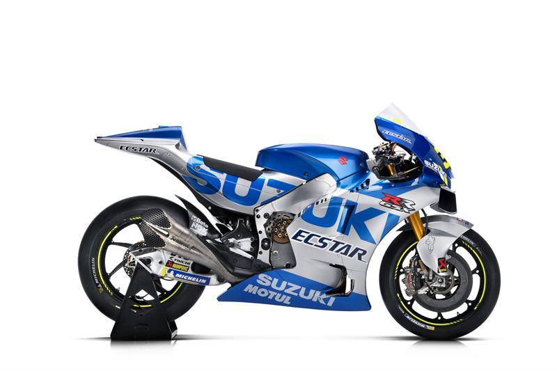 画像2: スズキのMotoGPマシンが〈ブルーシルバー〉に一新! Team SUZUKI ECSTAR が2020年シーズンを戦う「GSX-RR」を発表