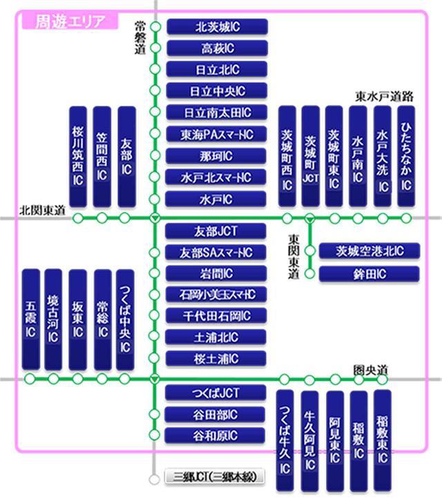 画像: ETCがあれば、茨城県の高速道路を乗り降り自由で3800円! ドラ割「いばらき観光応援フリーパス」の申込受付がスタート