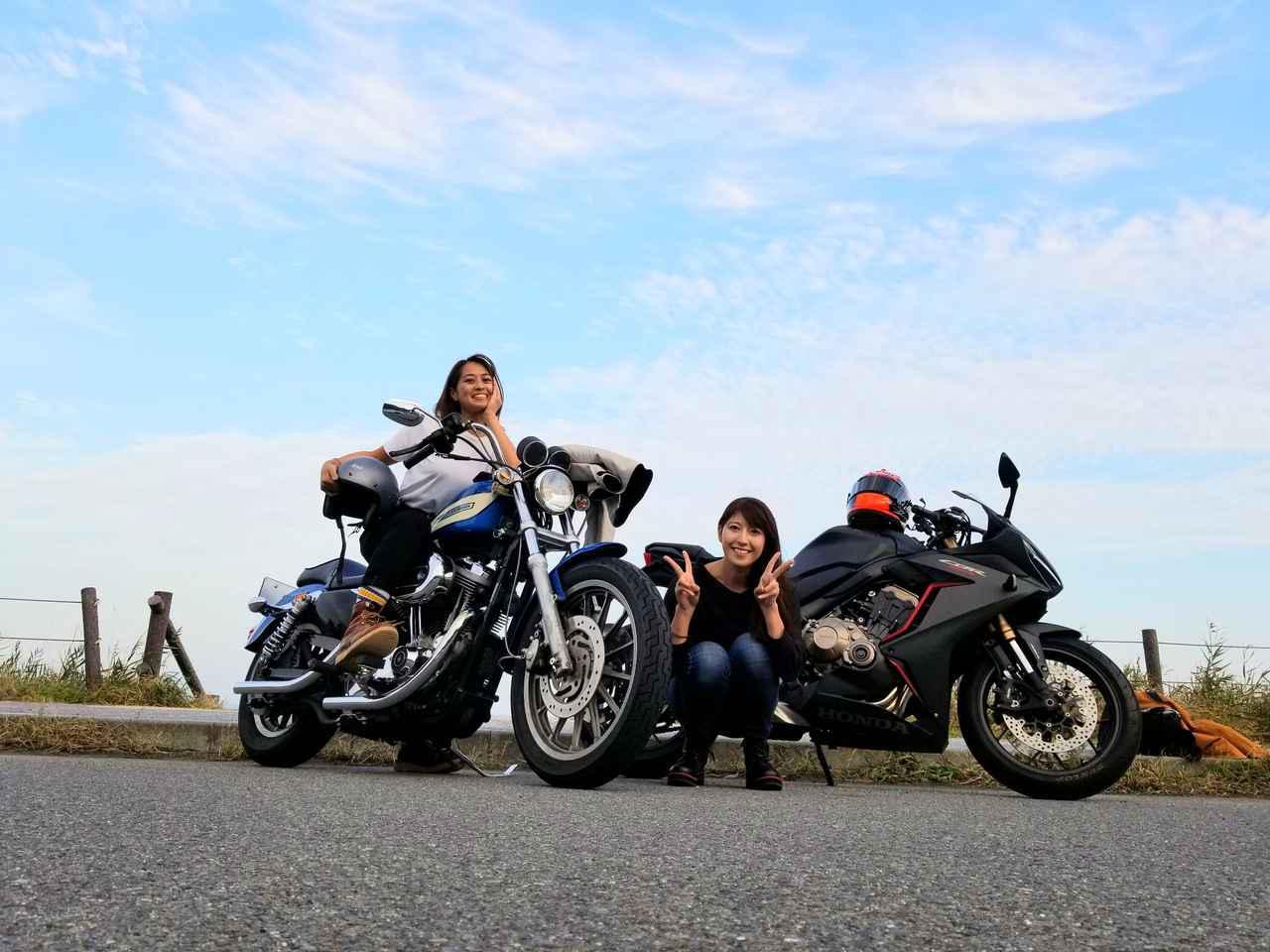 画像: [女子部のふたツー]体育会系ペアの筋肉ツーリング!(大関さおり 編)with まちょ子 - webオートバイ