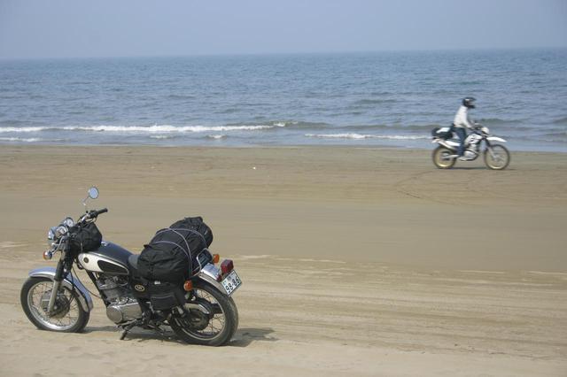 画像: 2008年GW、石川県・千里浜