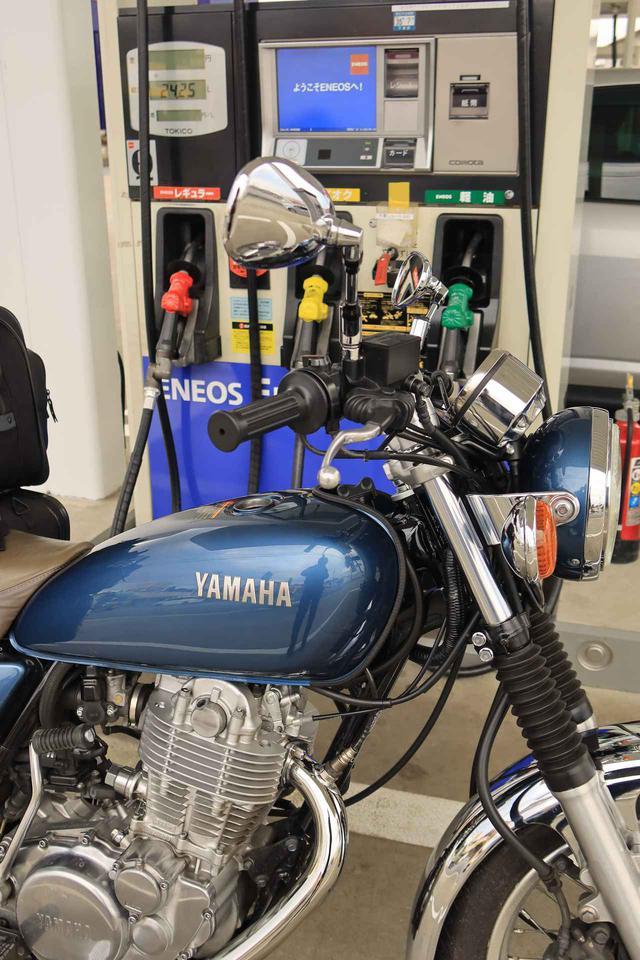 画像6: ヤマハ「SR400」キャンプツーリング・インプレ!積載方法・走り方・実燃費と、SR400だけが持つ魅力を元オーナーが解説