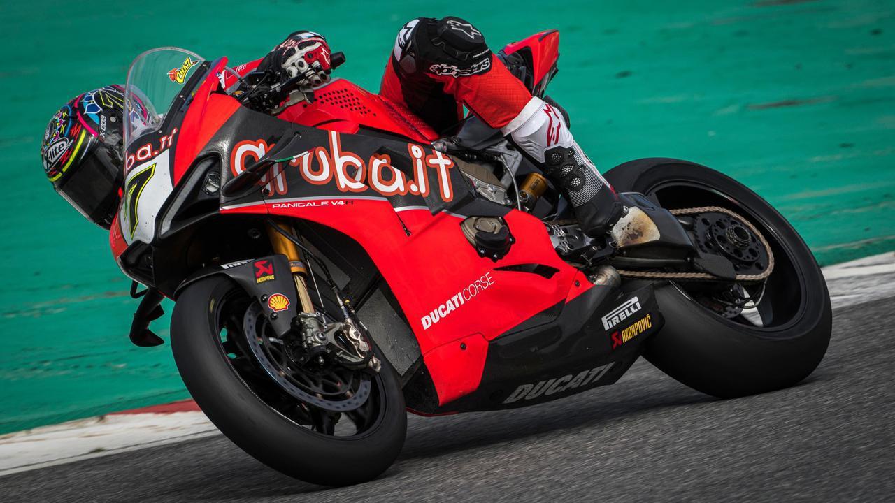 画像: スーパーバイク世界選手権(SBK)に参戦するパニガーレV4 R
