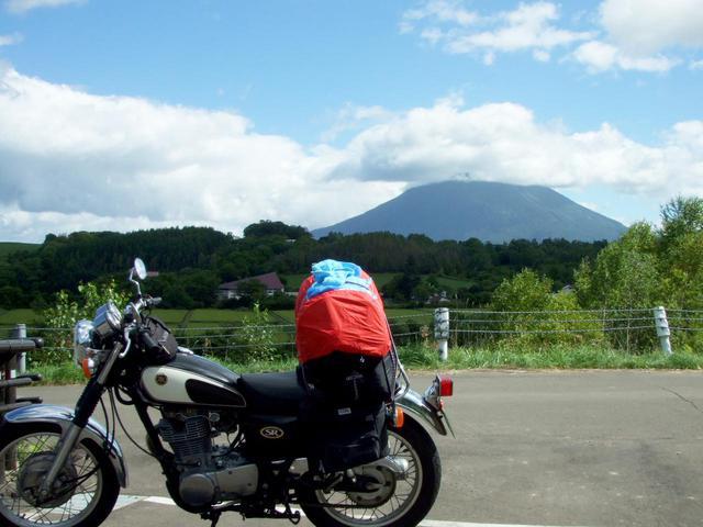 画像: 2007年夏、北海道・羊蹄山